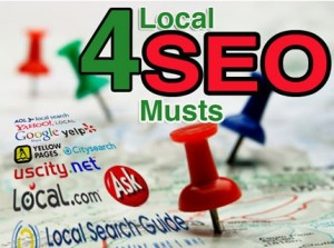 4 local SEO Musts