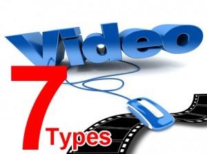 7 videot types
