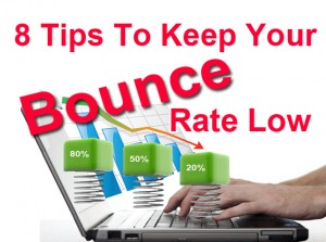 bounce rate low