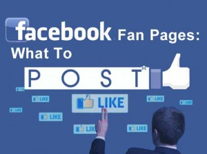facebook fangpage what to post