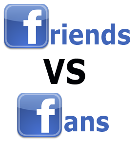 Facebook Friends Vs Fans