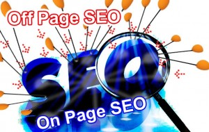 on and off page seo