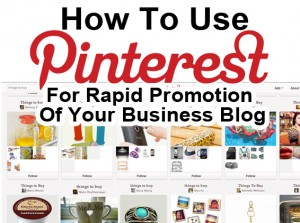 pinterest for promotion