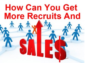 recruits and sales