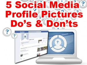 social media profile do's and don'ts