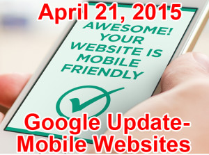 google update mobile websites