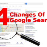 4 changes of google search