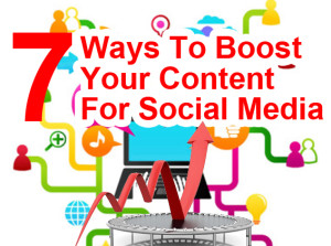 boost your content for social media