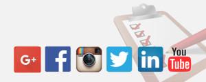 setting up social media