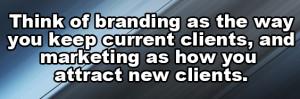 think of branding